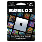 ROBLOX Physical Gift Card $25 With FREE Virtual Item For Sale