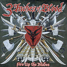 Fire Up the Blades by 3 Inches of Blood (CD, Apr-2007, Roadrunner Records)