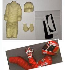 1/12 MICHAEL SCHUMACHER  F1 DRIVER FIGURE FOR REVELL FERRARI F2002 TBM1