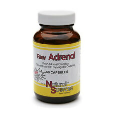 Raw Adrenal 60 Caps Natural Sources