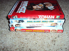 LOT OF 4 DVDS (Paul Blart, Zohan, In her shoes, MyBF's Girl) Comedy Lot