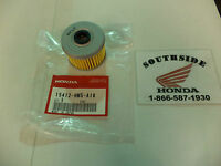 HONDA OIL FILTER TRX300 TRX350 TRX400 TRX420 TRX450 TRX500 BEWARE OF KNOCKOFFS