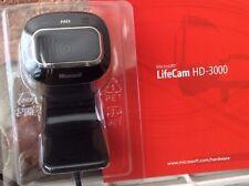 Microsoft LifeCam HD-3000 Web Camera - Unused In Packaging No Box