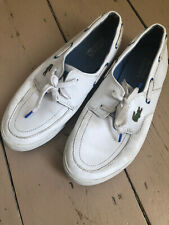 Lacoste Ramer Boat shoes, size 8, used