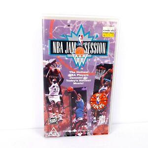 NBA Jam Session - VHS Video - FREE POST