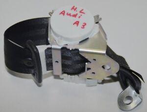 Original Audi A3 3-Türer Seat Belt Rear Right or Left 8P0857805