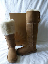 Ugg Australia Bailey Over The Knee Boots Chestnut Size 9 New In Box