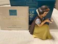 "WDCC Disney Classics SNOW WHITE Figurine #1217924 ""Won't You Smile for Me"""