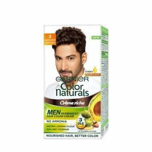 Garnier Color Naturals Men Shade 3 Darkest Brown, 30ML + 30 Gm (Pack of 2)
