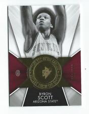 2014-15 SPx Finite Legends #FBS Byron Scott Lakers Arizona State *616/799