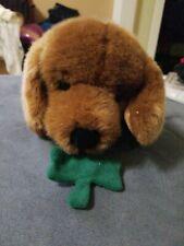"""Russ Berrie 12 """"Callahan Irish Dog Plush St Patrick's Day Stuffed Animal Puppy"""