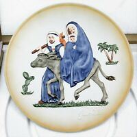 Goebel Janet Robson Flight into Egypt First Limited Edition Plate 1974 Porcelain
