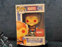 Funko Pop! #165 Hobgoblin (Spider-Man) Marvel Exclusive w/ hard stack