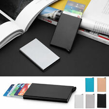 Porte-badges et porte-documents en aluminium pour homme