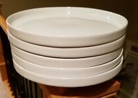 "Crate & Barrel STAXX II 10 1/2"" Dinner Plates Set of 5"