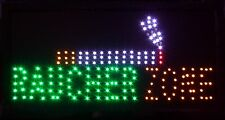 Raucher Zone LED Schild Leuchte Display Leuchtreklame Reklame Leuchtschild