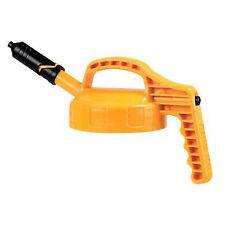 More details for oil safe mini spout lid - yellow