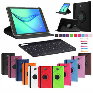 360 Swivel Flip Stand Leather Case Cover For Universal 7 8 9 10.1 Inch Tablet PC