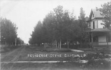 Brown County Residence Groton South Dakota C-1910 Rppc real photo postcard 99