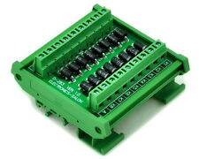 DIN Rail Mount3 Amp 1000V Common Anode 16 Diode Network Module, 1N5408.