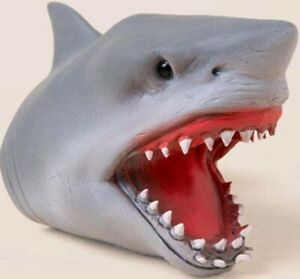 SCHYLLING SHARK BABY FINGER PUPPET - SC-SBFP STRETCHY PLAY TOY PRETEND SEA FISH