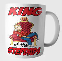 Step Dad Funny Birthday Fathers Day Christmas Gifts -  King of The Stepdad's