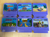VTech Vsmile Games Lot of 6 Disney, Dreamworks, Scooby