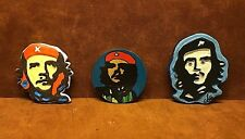 Lot of (3) Souvenir Travel Tourist Fridge Magnets ~ CHE GUEVARA ~ FREE SHIPPING