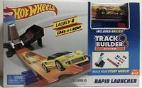 Hot Wheels Track Builder System Rapid Launcher Launch 4 Cars In A Row (2017)