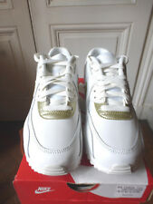 Details about New Nike Air Max 901 White Gold Running Shoe Sz 6 Womans 7.5 (AJ7695 102)