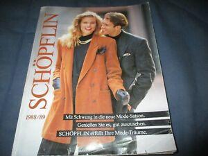Schöpflin Katalog Versandhauskatalog 1988 1989 88/89 komplett