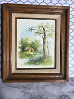 Catherine Parker Melton Original Oil Painting on Canvas Cottage