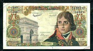 France (P144a) 100 Nouveaux Francs 1963