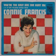 CONNIE FRANCIS: You're the Only One Can Hurt Me MGM DJ Promo Teen 45