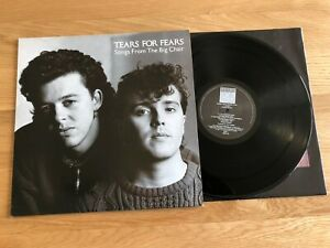 Tears For Fears - Songs From The Big Chair LP 1985 EX Vinyl Album MPO Pressing