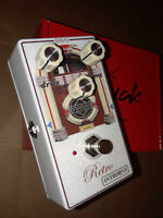 Retro Overdrive Kavak Guitar Effect Pedal - Handmade in USA