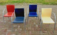 4 chaises empilables MOD de Martin BALLENDAT pour WIESNER HAGER - 1990