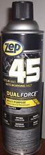 ZEP 45 DUAL FORCE PTFE LUBRICANT, 2 CAN PACK, ONLY $31.89/PACK, FREE SHIPPING