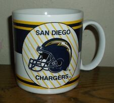 NFL San Diego Chargers Coffee Mug/Cup Russ Berrie & Co. Football          L@@K