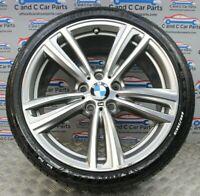 "BMW 3 4 Series 19"" Alloy Wheel Rear Style 442M 8.5J 6mm Goodyear RFT 7846781 348"