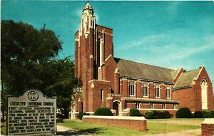 Vintage Postcard - Ebenezer Luthern Church Building South Carolina SC #5214