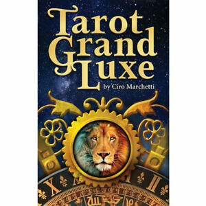"Tarot Grand Luxe NEW Deck and Book Set by Ciro Marchetti (2019) 3x5"" Cards"