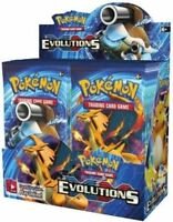 Pokemon XY Evolutions Booster New Sealed TCG Card Game - 4x New BOOSTER PACKS