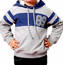 Kinder Jungen Shirt Kapuzen Sweatshirt Gr 2/92 4/104 6/116 8/128 10/140 12/152.