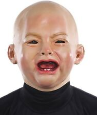 Crying Baby Mask 131319 Funny Babyface Costume Accessory Fancy Dress