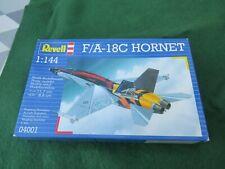 REVELL F/A - 18C HORNET 1:144 SCALE MODEL KIT