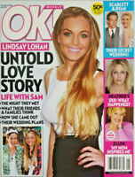 OK! Weekly Magazine October 13 2008 Lindsay Lohan Untold Love Story No Label NM