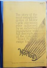 Norton Motorcycles - Story for 1936 - ENG