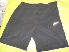 GONSO Shorts kurze Hose mit Innenhose gepolstert Gr. 46 grau Damen Fehlkauf neuw