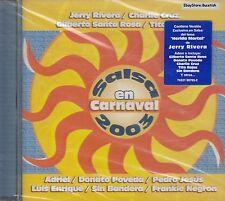 Jerry Rivera Gilberto Santa Rosa Charlie Cruz Salsa En Carnaval 03 CD Sealed